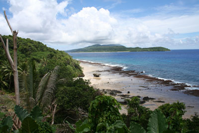 Futuna I,  view from Alofi I.